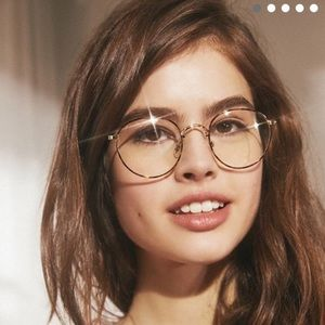 Urban Outfitters || tortoise print clear glasses
